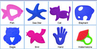 Wholesale 100 Food Grade Silicone Baby Teether Toys Soft Infant Pacifiers Animal Fruit BPA Free Large Stocks DHL