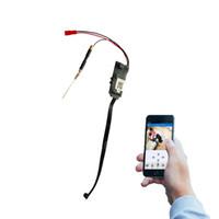 Precio de Línea de hd-Mini inalámbrico HD 1080p SPY cámara ocultada Wifi módulo DVR vídeo IP P2P grabador a prueba de falsificación fila línea módulo de la leva WF3