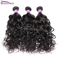 Wholesale Ali Moda Malaysian Water Wave Human Hair Bundles Cheap Wet and Wavy Remi Weave Unprocessed Curly Hair Extensions Natural Wave