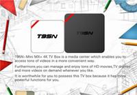 Bon Marché Boîte android amlogic-T95N Mini MX + Amlogic S905 TV Android BOX Kodi 16.0 TV Live 4K MXQ M8S Q Boîte Smart TV BOX