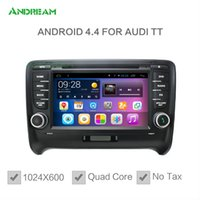 audi a4 - 1024 Quad Core In dash Car DVD Radio Android Bluetooth gps navigation For AUDI A3 A4 TT Free EU shipping NO TAX