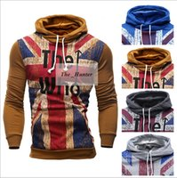 active union - Men British UK Hoodies Cardigan Jacket Fashion Union Jack Hoodie Sports Leisure Coat Casual Jackets Men Sweaters Tracksuit Outerwear