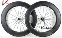 Wholesale E nve Full carbon bike wheelset mm clincher tubular C road bike wheel wider U shape rim