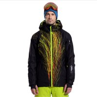 Wholesale High Quality Waterproof Men s Ski Jacket Breathable Snowboard Jacket for Men Winter Outdoor Thermal Coat Snow Clothing Warm