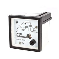 Cheap Wholesale-AC 0-400A Measuring Range Panel Mounting Ammeter Ampere Meter 99T1 48mm x 48mm