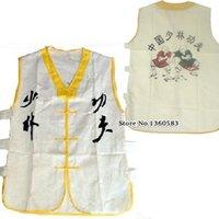 beautiful uniforms - Beautiful White Color Shaolin Monk Uniform Sleeveless Vest Martial arts Wushu Kung fu Suit