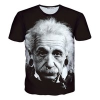 albert fashion - New t shirt men women Albert Einstein print short sleeve T shirts casual tops tees summer men s fashion t shirt