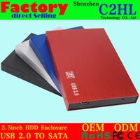 aluminum laptop cases - SATA Hard Drive Enclosure High Quality New HDD Case Enclosure Suitable for Laptop Hard Disk Driver S2507