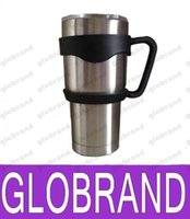 Wholesale Outdoor Travel Portable Double Wall Car Cups Handle for Oz YETI Rambler Tumbler New Arrival GLO709