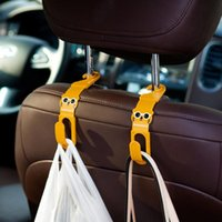 Wholesale Brand New Car Auto Seat Hanger Garbage Bag Organizer Holder Hook Pair FG08306