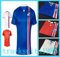 Wholesale 2016 Iceland Jerseys Shirt sigthorsson g siurdsson Wholesalers Thailand quality Jersey European Cup Away Home Jersey