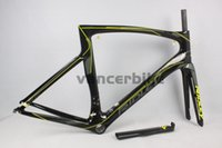 carbon fiber bicycle frame - 2015 best selling carbon road frame Ridley bike carbn fiber road frame T1000 carbon frame UD wave chinese bicycle frameset