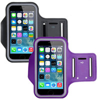 armband key holder - For Samsung S7 ArmBand Case Water Resistant Sports Armband With Key Holder For IPhone s Plus Samsung Galaxy S5 S6 Edge DHL SCA116