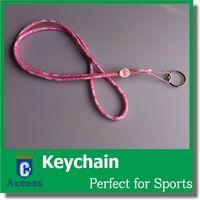 bear lanyard - 2016 Bears PINK Breast Cancer Awareness Quality Lanyard Keychain