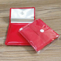 Wholesale Fashion Red Color PVC Mini Small Pocket Portable Ashtray For Outdoor Promotion Gift