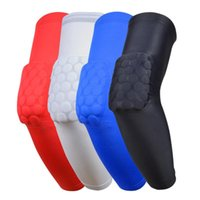 Wholesale Crashproof Sport Flexible Basketball Shooting Arm Sleeve Support Elbow Pad Support Honeycomb Pad Cycling Protect Sports Safety