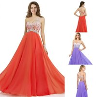 affordable style - Stunning One Shoulder Colorful Beads Criss Cross Backless Sexy Prom Gowns Orange Retail Top Quality Affordable Price And Latest Style