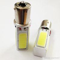 Wholesale High Power COB Car Brake Light Tail Bulb W LED BA15S S25 P21W Lamp Pure White DC12V
