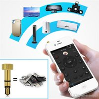 Wholesale New Portable Mini Pocket Mobile Phone Smart Control mm Dust Plug Cover For IOS Phones Headphone Air Conditioner TV DVD