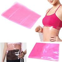 best fat burner - Cellulite Fat Burner Weight Loss Sauna Slimming Body Shape Up Belt Waist Body Wrapping Film Plastic Best Waistband