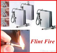 Wholesale Camping kitchen Flint Fire Starter Matches Portable Bottle Shaped Survival Tool for outdoor no oil OUT013