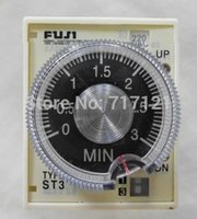 ac fuji - FUJI timer switch ST3P A B AC V Hz s s s min with base