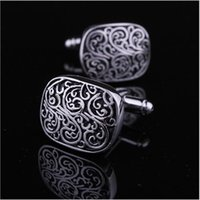 Wholesale 1 pairs classic cufflinks for men shirt cuff gentleman s Cufflinks Men s Cuff links