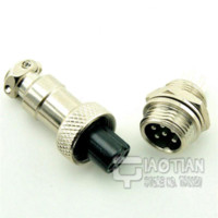 aviation cable - 6 PIN mm GX12 P Aviation Plug Interface Male amp Female Wire Panel Connector Socket Plug Pair