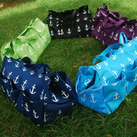 Wholesale Blanks Anchor Polyester Large Garden Tote Utility Tote Bag Garden Tool Bags in many colors DOM103306