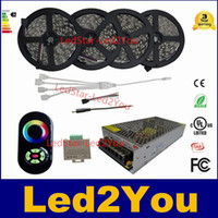 ac transformer wiring - 20M M M RGB LED Strips Light Non waterproof Tape set Wireless Touch Remote Controller DC V AC V Transformer