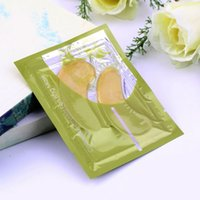 Wholesale 2pcs Pair Eye Patches Gold Crystal Collagen Eye Mask Anti winkle High Quality Hot Selling