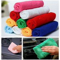 Wholesale 10 Microfibre Cleaning Cloth Towel Car Valeting Polishing Duster Kitchen Washing