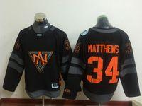 america custom - 2016 Premier Custom Jersey World Cup North America Mens Kids Jerseys Auston Matthews Black Ice Hockey Jerseys Stitched Jerseys