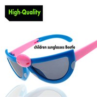 beetle boy - High quality cartoon Beetle children sunglasses Boys Girls fashion classic huge lenses Folded dark glasses Sunglasses
