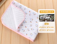 Wholesale Play funny send warm waterproof cotton changing mat baby changing mat towel