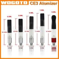 Wholesale BUD Touch Vaporizer WAX CBD Hemp Oil CE3 Atomizer Cartridge O Pen CE3 ml vapor thick Waxy Smoking Mini Tank dex vape