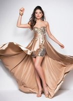 affordable modern design - Mass Production Sweetheart Rhinestones Multi Colors Affordable Junior Prom Dresses Hi Lo Breathtaking Designs Summer Collection