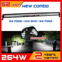 Wholesale 52inch w LED Light Bar IP67 v X4 LED Offroad Light Bar COMBO for Truck ATV LED Bar Offroad Drive Light Seckill w240w
