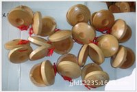 Wholesale 10000pcs Wooden Sounding Boards Round Dance Board Plate Musical Instruments Toys