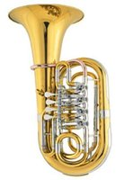 Wholesale Bb Junior Tuba Valve Height mm with Foambody Case EMS Musical Instruments