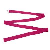Wholesale NEW Yoga Lengthen Multi Colors Yoga Belts Stretch Strap D Ring Belt Waist Leg Fitness Exercise Gym Rope cm Yoga Belt Y1603