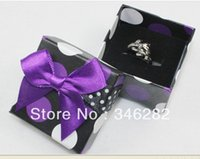 Wholesale ring box gift packaging boxes for jewelry gift package storage