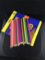Wholesale Color pen Secret Garden wound packages colour pencil student pupil scholastic wooden club drawing colors colors DHL Fedex Free
