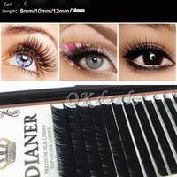 best fake lashes - 1 Set Best Hot Mink Individual False Eyelashes Fake Lash Extensions Semi Permanent Makeup Tools