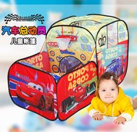 Wholesale Tent for kids children s tent Children Beach Tent Baby Toy Play Game House Indoor Outdoor Toys Tents Christmas Gifts cm