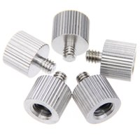 Wholesale 5x New quot Female to quot Male Tripod Thread Reducer Adapter Stainless Steel fr DSLR Camera