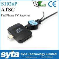 Wholesale 2016 Promotional ATSC Pad TV receiver for USA Canada Mexioco Korea market SYTA Mobile tv receiver