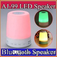 ambient light lamp - Smart Bluetooth Speaker with Colorful Mood lamp Touch Atmosphere lamp support SD card Hands free ambient lights wireless speaker J YX