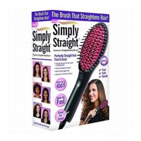 Wholesale High Quality Simply Hair Straightener Brush Comb Straight Ceramic Electric Degital Control Antiscaled with Lcd VS DAFNI Hair Straighteners D