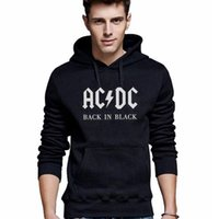 ac dc sweatshirt - Hoodies Sweatshirts Fashion Men Hoodies Male AC DC Casual Sportswear Autumn Outdoor Sports Outerwear Tracksuit Sweatshirt